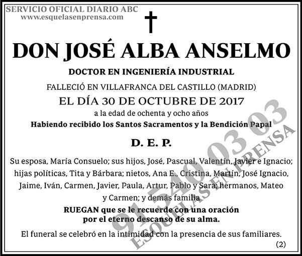 José Alba Anselmo